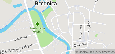 Muzeum w Brodnicy - Spichlerz – mapa