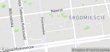 OFF Piotrkowska – mapa