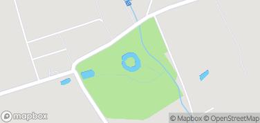 Zamek w Oporowie – mapa