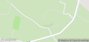 Ruiny zamku w Rabsztynie – mapa