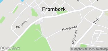 Katedra we Fromborku – mapa