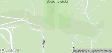 Brama Bolechowicka – mapa