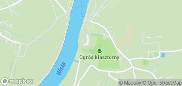 Opactwo Benedyktynów w Tyńcu – mapa