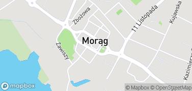 Ratusz w Morągu – mapa