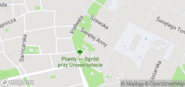 Muzeum Uniwersytetu Jagiellońskiego – mapa