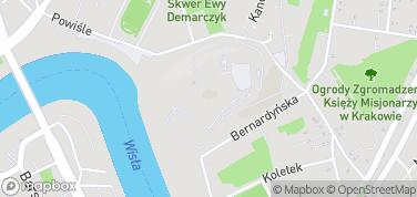 Wzgórze Wawel – mapa