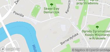 Kaplica Królowej Zofii – mapa