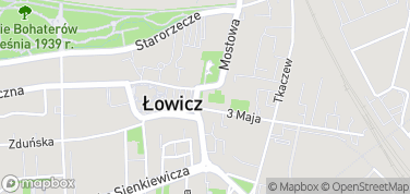 Muzeum w Łowiczu – mapa