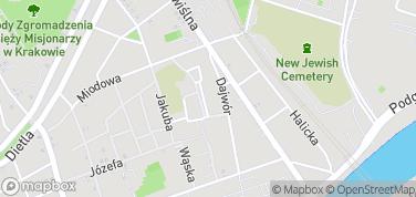 Synagoga Poppera – mapa