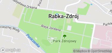 Park Zdrojowy – mapa