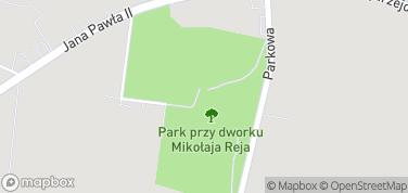 Dworek M. Reja - Muzeum – mapa