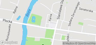 Muzeum Ziemi Sochaczewskiej i Bitwy nad Bzurą – mapa