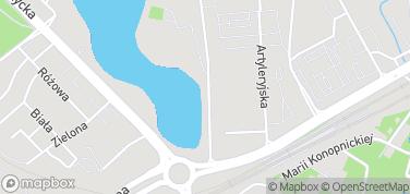 Jezioro Długie – mapa