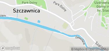 Kolej linowa na Palenicę – mapa