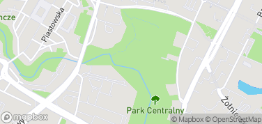 Park Centralny – mapa