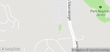 Park rozrywki  Makumba – mapa