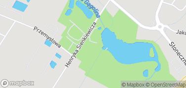 Zespół pałacowo-parkowy w Radziejowicach – mapa