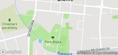 Park Bajka – mapa