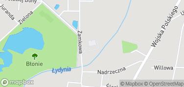 Zamek w Ciechanowie – mapa