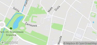 Katedra w Kielcach – mapa