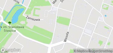 Muzeum Lat Szkolnych Stefana Żeromskiego – mapa