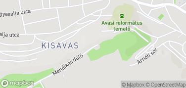 Wieża widokowa Avasi – mapa