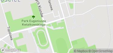 Centrum Sztuki Mościce – mapa