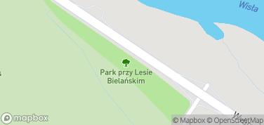 Park Linowy Bielany – mapa