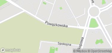 Powązki – mapa