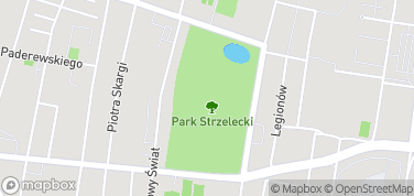 Park Strzelecki – mapa