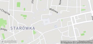 Ratusz w Tarnowie – mapa