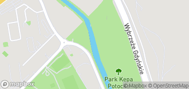 Kępa Potocka – mapa