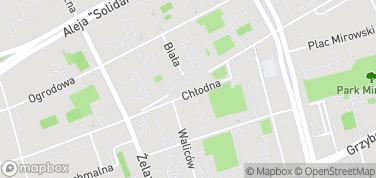 Skwer ks. Jerzego Popiełuszki – mapa