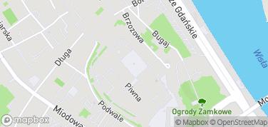 Pomnik Warszawskiej Syrenki – mapa