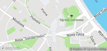 Kolumna Zygmunta i Plac Zamkowy – mapa