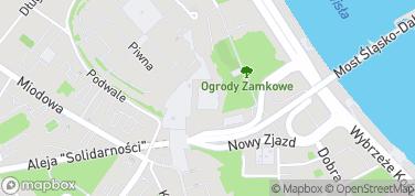 Zamek Królewski w Warszawie – mapa