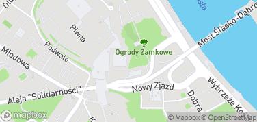 Zbiory Lanckorońskich – mapa