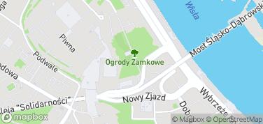 Arkady Kubickiego – mapa