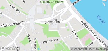 Mariensztat – mapa