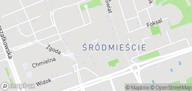 Ulica Chmielna – mapa