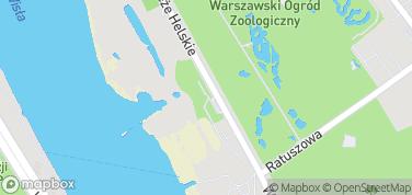Park Linowy – mapa