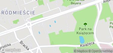 Muzeum Narodowe w Warszawie – mapa