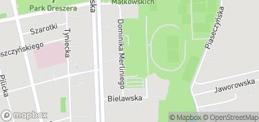 Wodny Park Warszawianka – mapa