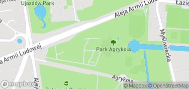 Centrum Sztuki Współczesnej Zamek Ujazdowski – mapa
