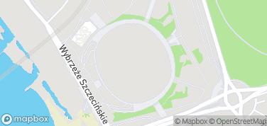 Stadion Narodowy – mapa