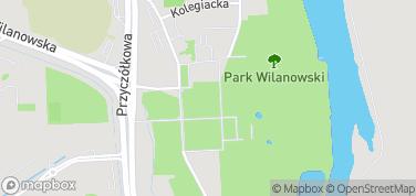 Mauzoleum Potockich – mapa