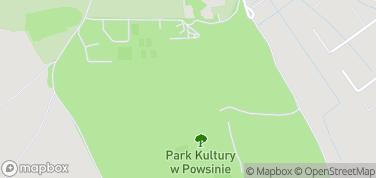 Park Kultury w Powsinie – mapa
