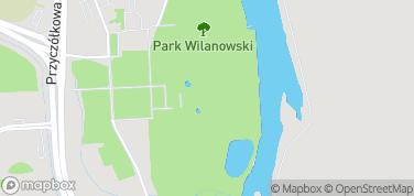 Pałac w Wilanowie – mapa
