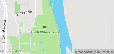 Wypożyczalnia łodzi nad Jeziorem Wilanowskim – mapa