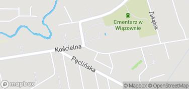Parafia św. Wojciecha – mapa